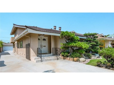 Los Angeles County Single Family Home For Sale: 2025 Federal Avenue