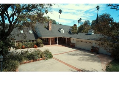 Encino Single Family Home For Sale: 17211 Rancho Street