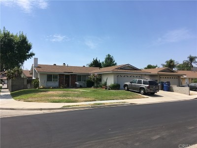 Canyon Country Single Family Home For Sale: 19636 Lonerock Street