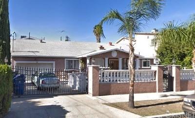 Single Family Home For Sale: 6703 Nagle Avenue