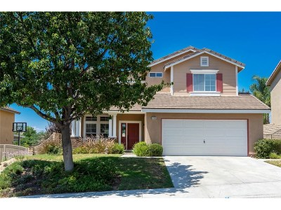 Saugus Single Family Home For Sale: 28463 Jerry Place