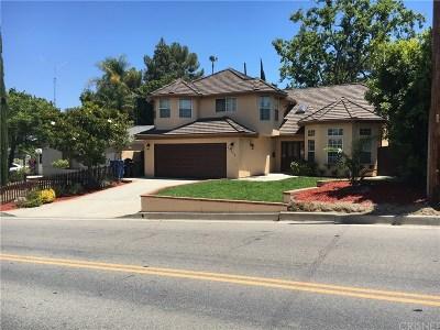 Woodland Hills Rental For Rent: 22938 Avenue San Luis