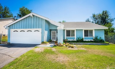 Canyon Country Single Family Home For Sale: 18734 Wellhaven Street