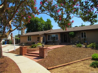Northridge Single Family Home For Sale: 17147 Vintage Street