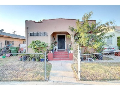 Los Angeles Single Family Home For Sale: 1049 West Gage Avenue