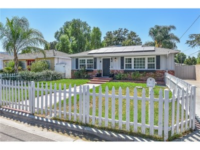 Newhall Single Family Home For Sale: 25253 Everett Drive