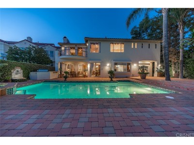 Calabasas Single Family Home For Sale: 24754 Cordillera Drive