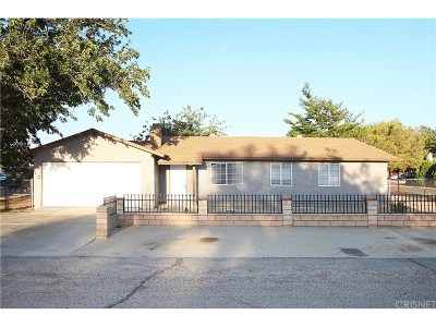 Palmdale Single Family Home For Sale: 40104 178th Street East