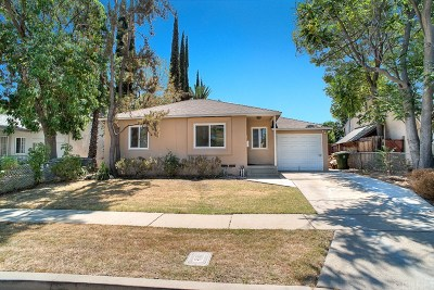 Encino Single Family Home For Sale: 17606 Bromley Street