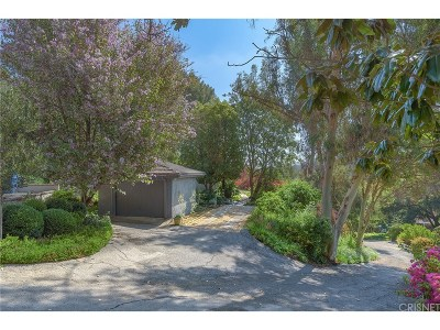 Studio City Single Family Home For Sale: 12194 Laurel Terrace Drive