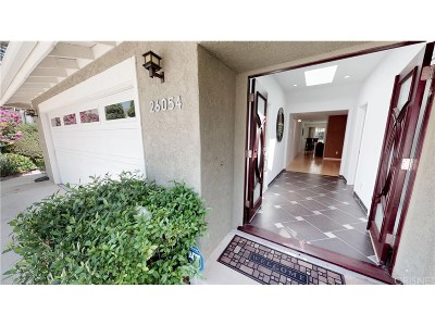 Calabasas Single Family Home Sold: 26054 Redbluff Drive