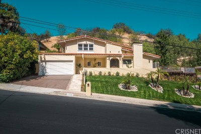 Encino Single Family Home For Sale: 4501 Grimes Place