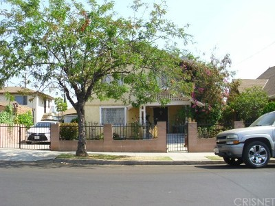 Los Angeles Single Family Home For Sale: 2437 Malabar Street