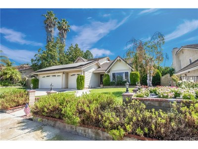 Moorpark Single Family Home Active Under Contract: 4130 Oakcliff Drive