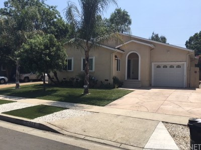 Encino Single Family Home For Sale: 17462 Califa Street