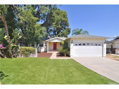 Lake Balboa CA Single Family Home For Sale: $689,000