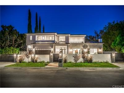Encino Single Family Home For Sale: 5412 Aldea Avenue