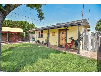 Sun Valley CA Single Family Home Sold: $550,000