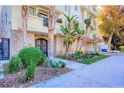 Studio City Condo/Townhouse Active Under Contract: 4550 Coldwater Canyon Avenue #301