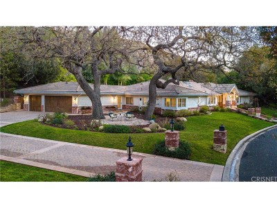 Westlake Village Single Family Home Sold: 3981 Skelton Canyon Circle