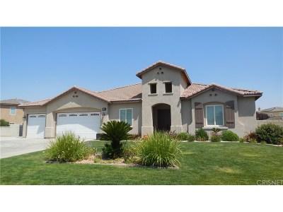 Lancaster Single Family Home For Sale: 41722 Firenze Street