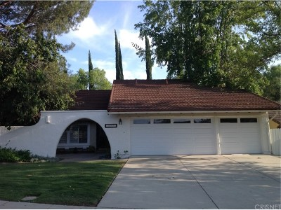 Agoura Hills Single Family Home Active Under Contract: 28902 Calabria Drive