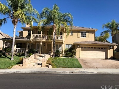 Los Angeles County Single Family Home For Sale: 25623 Morning Mist Drive