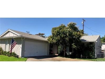 Saugus Single Family Home For Sale: 27239 Barada Avenue