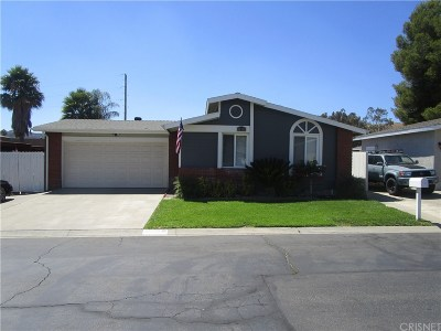 Castaic Single Family Home For Sale: 31929 Emerald Lane
