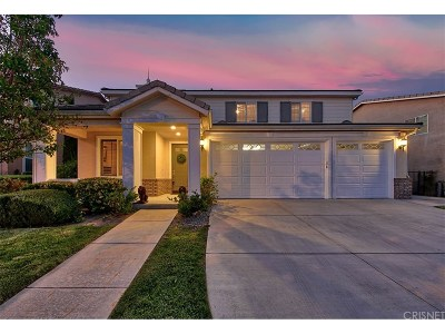 Newhall Single Family Home For Sale: 19615 Ellis Henry Court