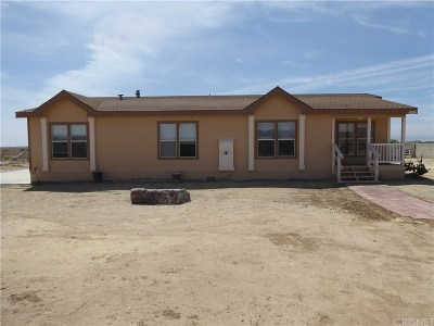 Rosamond Single Family Home For Sale: 2362 50th Street West
