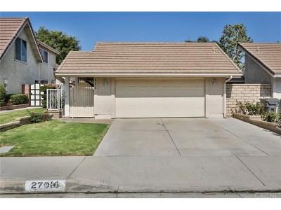 Valencia Single Family Home For Sale: 27016 Rio Prado Drive