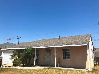 Compton Single Family Home For Sale: 512 South Corlett Avenue