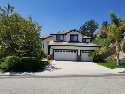 Canyon Country Single Family Home For Sale: 29201 Sequoia Road