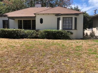 Studio City Single Family Home For Sale: 4425 Van Noord Avenue