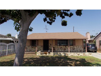 Los Angeles Single Family Home For Sale: 1545 West 110th Place