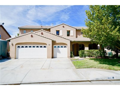 Lancaster Single Family Home For Sale: 44119 Quarter Street