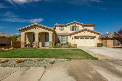 Lancaster Single Family Home For Sale: 43651 Tahoe Way