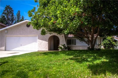 Calabasas Single Family Home For Sale: 3549 Elm Drive