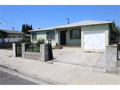 Compton Single Family Home For Sale: 429 West Cherry Street