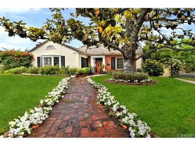 Toluca Lake Single Family Home For Sale: 10403 Valley Spring Lane