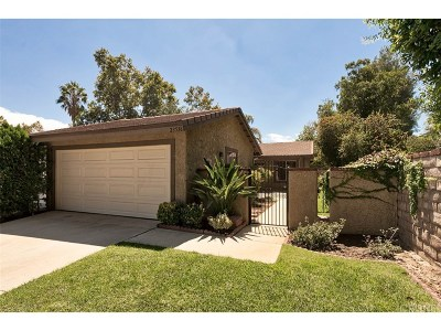 Valencia Single Family Home For Sale: 23536 Platina Drive