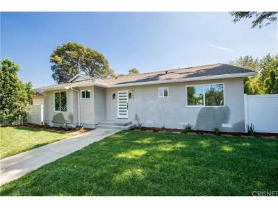 Tarzana Single Family Home For Sale: 6114 Tampa Avenue