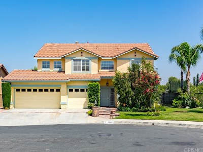 Saugus Single Family Home For Sale: 22601 White Wing Way