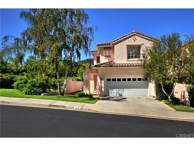 Calabasas Single Family Home Sold: 3619 Calle Joaquin