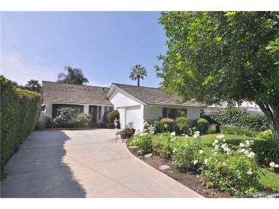 Encino Single Family Home For Sale: 16146 Morrison Street