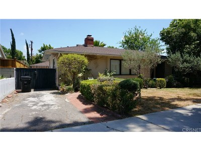 Studio City Single Family Home For Sale: 4524 Irvine Avenue