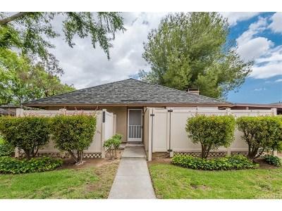 Agoura Hills Condo/Townhouse For Sale: 28800 Conejo View Drive