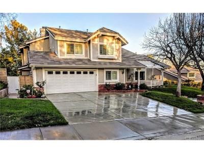 Valencia Single Family Home For Sale: 27030 Littlefield Drive