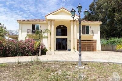 Camarillo Single Family Home For Sale: 489 Avocado Place